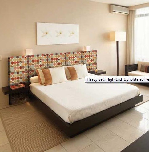 Decorando el cabecero de la cama con telas - Cabeceros de cama con fotos ...