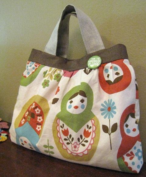 Como hacer bolsos de tela para niña - Imagui